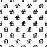 Small cottage pattern, simple style Stock Images