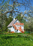 Small  cottage Stock Photography