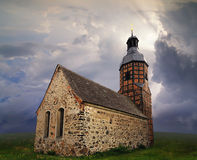 Small country church Stock Photography