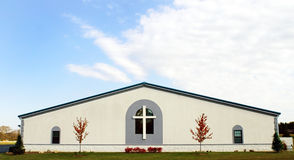 Small Country Church. Small, simple church in rural Midwest, USA Royalty Free Stock Images