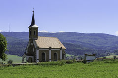 Small Country Church. In the Czech Republic Royalty Free Stock Image