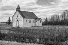 Small country church Royalty Free Stock Photos