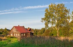 Small Country Estate Stock Photo