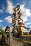 Westville Country Fair. Zipper ride in a small country fair Stock Photo
