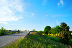 Small country road Royalty Free Stock Images