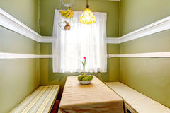 Small coutnry style dining area Royalty Free Stock Image