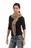 Small Couture Scarf royalty free stock image