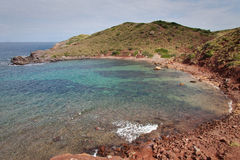 Small cove in Menorca Stock Photos
