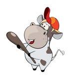 Small cow Cartoon Stock Photography
