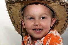 Small Cowboy Stock Image
