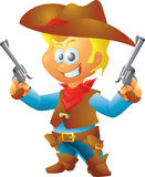 Small Cowboy Stock Photography