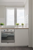 Small cozy kitchen Royalty Free Stock Photography