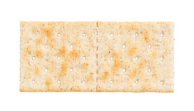 Small cracker isolated Royalty Free Stock Photography