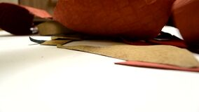 Small craft manufacturing of leather accessories