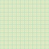 Small Cream and blue green square cube pattern background. Small Cream and blue green squares inside squares cube pattern background wallpaper Stock Photography