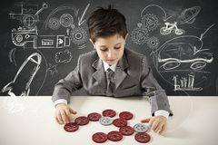 Small creative engineer Stock Photos