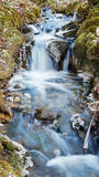 Small creek with a waterfall Royalty Free Stock Photos