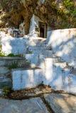 Small cretan village in Crete island, Greece. Building Exterior of home. Stock Images