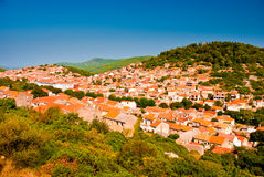 Small Croatian town. Royalty Free Stock Photography
