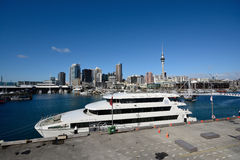 Small cruise ship Royalty Free Stock Images