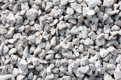 Small crushed rocks Stock Images