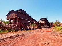 Small crushing plant Stock Photos