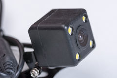 Small cube spy hidden camera parking Royalty Free Stock Images