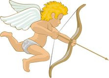 Small cupid Royalty Free Stock Images