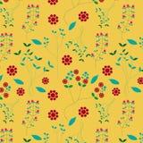 Small cute flower seamless pattern stock photo