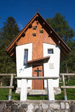 Small cute little church in the Dolomites Stock Photography