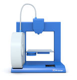 Small 3d printer Royalty Free Stock Photo