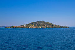 Small Dalmatian island of Osljak Royalty Free Stock Images