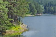 Small dam in beautiful mountain Plana Royalty Free Stock Photos