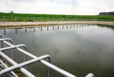 Small Dam for power generation and irrigation Stock Photography