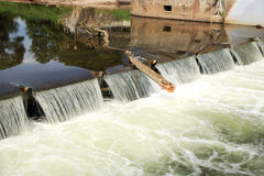Small dam Stock Photo
