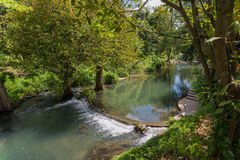 Small dam river Royalty Free Stock Photography