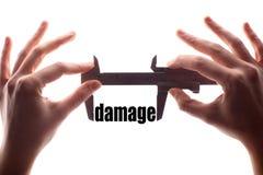 Small damage Royalty Free Stock Photo