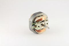 Small DC motor with casing removed Royalty Free Stock Image