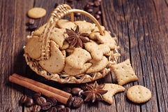 Small decorative cookies Stock Images