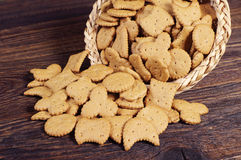 Small decorative cookies Royalty Free Stock Images