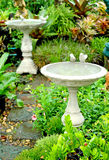 Small decorative fountain Royalty Free Stock Images