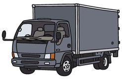 Small delivery truck Stock Photos