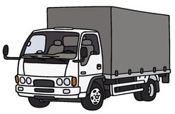 Small delivery truck Royalty Free Stock Photography