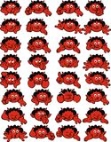 Small devil smiles Royalty Free Stock Photography