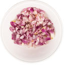 Small Dice Style Chopped Onion II Stock Image