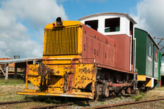 Small Diesel Locmotive Stock Photography