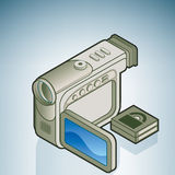 Small Digital Camera Royalty Free Stock Image