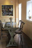 Small dining room Stock Image