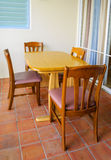 Small dining table Royalty Free Stock Photography