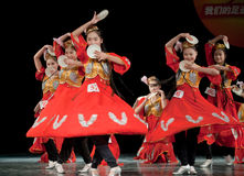 Small dish--Xinjiang Uygur dance Stock Photography